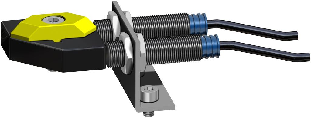 Entegre manuel kontrollü GDV çift etkili pnömatik aktüatör - aksesuarlar - YAKINLIK LİMİT ANAHTARI