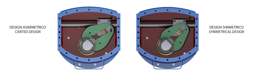 Tek etkili pnömatik aktüatör GS Heavy Duty karbon çeliği - özellikler -