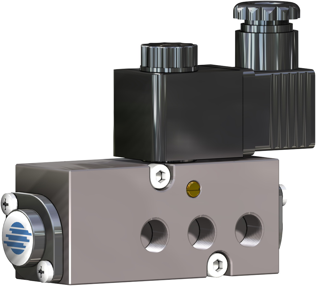 Entegre manuel kontrollü GDV çift etkili pnömatik aktüatör - aksesuarlar - SOLENOİT VANA NAMUR
