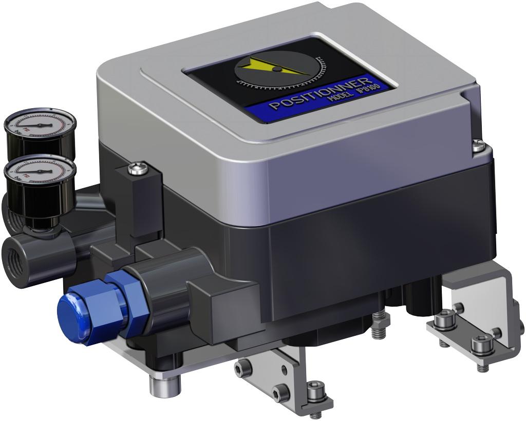 Entegre manuel kontrollü GDV çift etkili pnömatik aktüatör - aksesuarlar - ELEKTROPNÖMATİK KONUMLANDIRICI (İNTRENSEK EMNİYET)