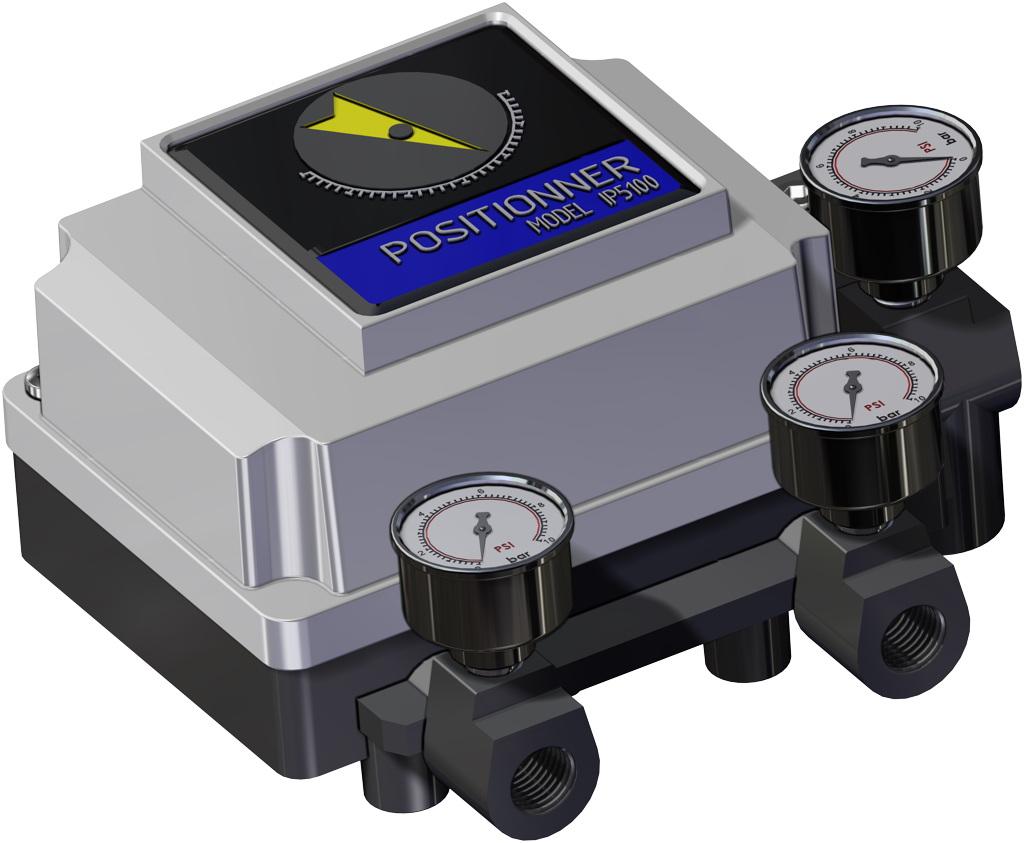 Entegre manuel kontrollü GDV çift etkili pnömatik aktüatör - aksesuarlar - PNÖMATİK KONUMLANDIRICI